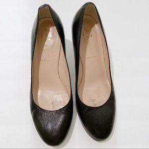 Kate Spade Leather Pumps Size 8.5 Black